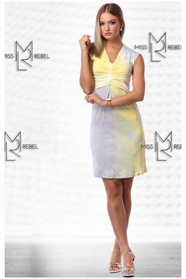Milva ruha rövid sárga#151453 image