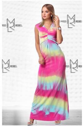 Milva ruha hosszú pink#151557 image