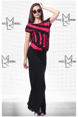 Avokádó ruha pink hosszú#152715 image
