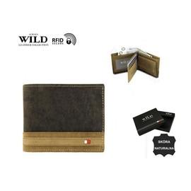 LEATHER N1662-R-RFID-9555 Brown-T 84570543#144374 image